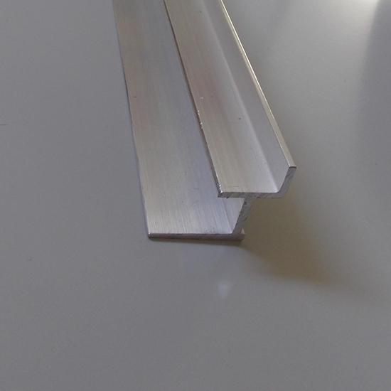 Изображение Алюминиевый держатель полок ( ДСП, МДФ 18мм) для экономпанели