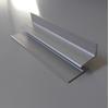 Зображення Алюмінієвий тримач полиць (скло 5мм) для економпанелі