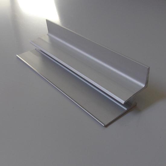 Изображение Алюминиевый держатель полок ( стекло 5мм) для экономпанели
