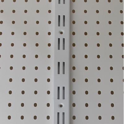 Зображення Стійка перфорована подвійна біла L=2000мм