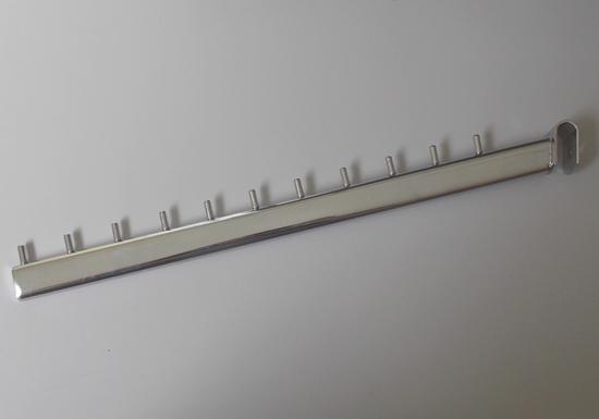 Зображення Кронштейн флейта овальна на перемичку 45 см 11 шпильок