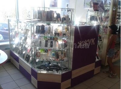 Торговельне обладнання для острівної магазину, торговельні острівці.