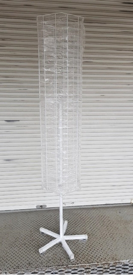 Зображення Стійка вертушка для окулярів 156 місць, для підлоги
