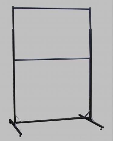 Зображення Стійка для одягу двоярусна з регульованою висотою 2200х1500мм