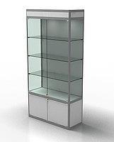 Зображення для категорії Торгові скляні вітрини та прилавки з алюмінієвого профілю