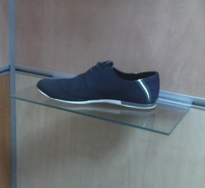 Зображення  Поличка для взуття в економпанель скляна