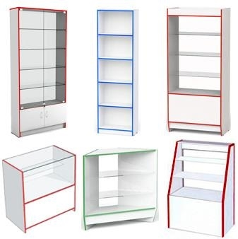 Зображення для категорії Меблі для магазину з ДСП