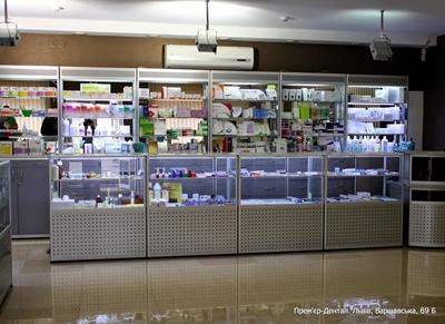 Торгівельне обладнання для аптек