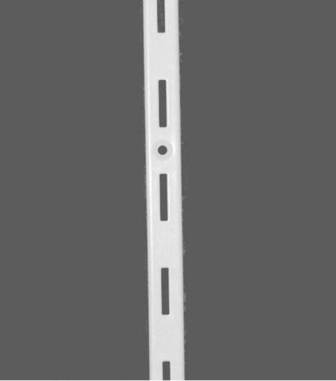 Зображення Стійка перфорована одинарна біла L=2000мм