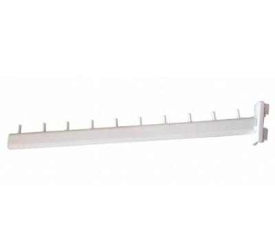 Изображение Кронштейн флейта овальная труба в стойку белая