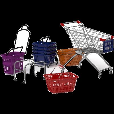 Изображение для категории Покупательские корзины и тележки