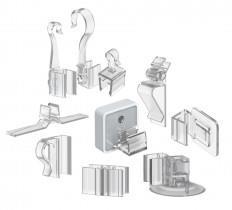 Зображення для категорії Кріпильні аксесуари для пластикових рамок