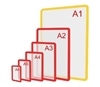 Зображення Пластикова рамка формату А1