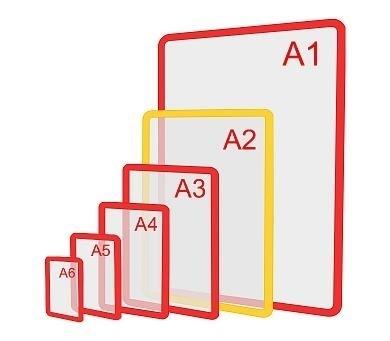 Изображение Пластиковая рамка формата А2