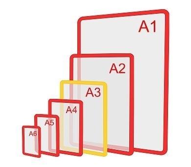 Изображение Пластиковая рамка формата А3