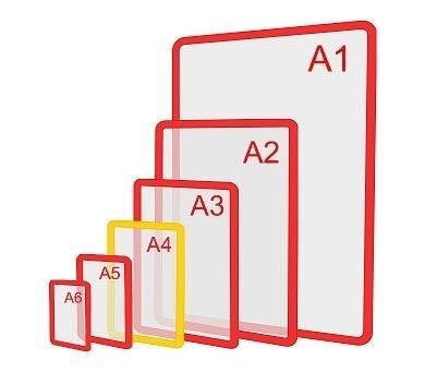 Зображення Пластикова рамка формату А4
