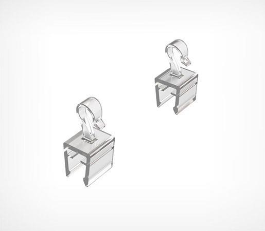 Зображення Фіксований гачок для кріплення пластикових рамок UP-CLIP