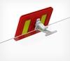 Зображення Кліпса для установки рамки ТЕХНО МІНІ на полицю TECHNO SUPPORT CLIP