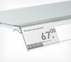 Зображення Цінникотримачі для кріплення на скляні полиці GLS
