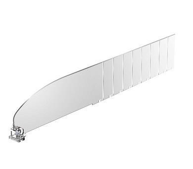 Зображення Пластиковий роздільник висотою 60 мм без обмежувача DIV60-B