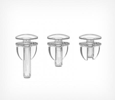 Зображення Пластиковий гвинт і гайка з вушками VIKING SCREW
