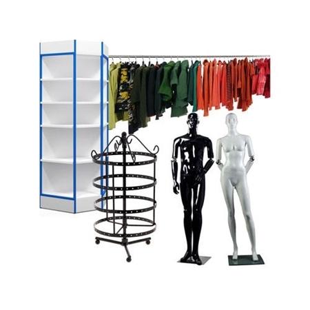 Зображення для категорії Торгове обладнання для магазинів одягу